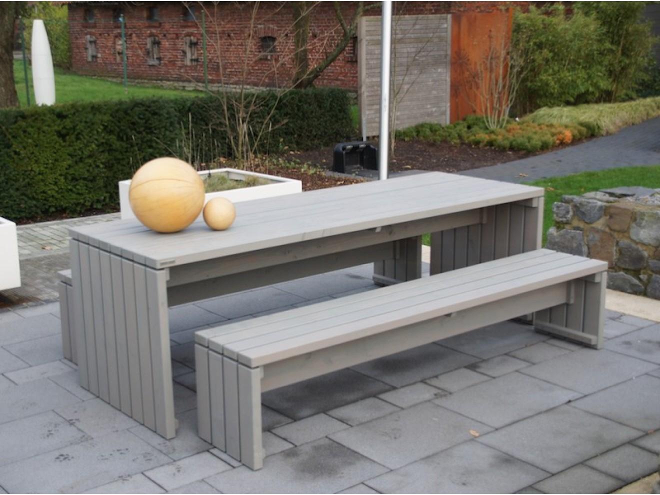 Gartenmöbel set holz grau  Gartentisch - Zeitlose Gartenmöbel aus heimischem Holz