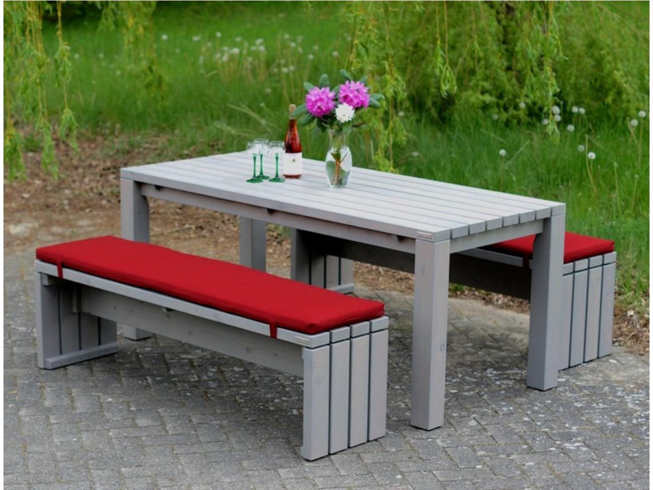 Bevorzugt Gartentisch - Zeitlose Gartenmöbel aus heimischem Holz KJ52