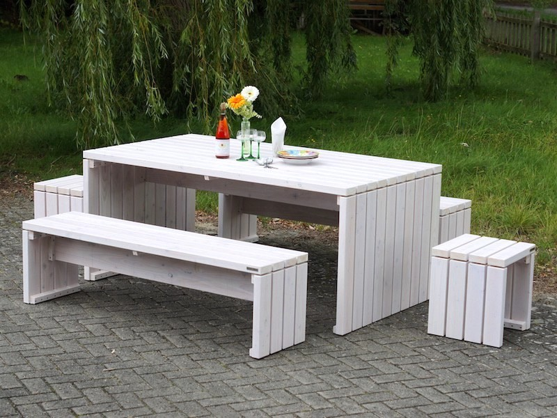 gartentisch holz wei awesome balkontisch manila wei klapptisch balkontisch gartentisch klappbar. Black Bedroom Furniture Sets. Home Design Ideas
