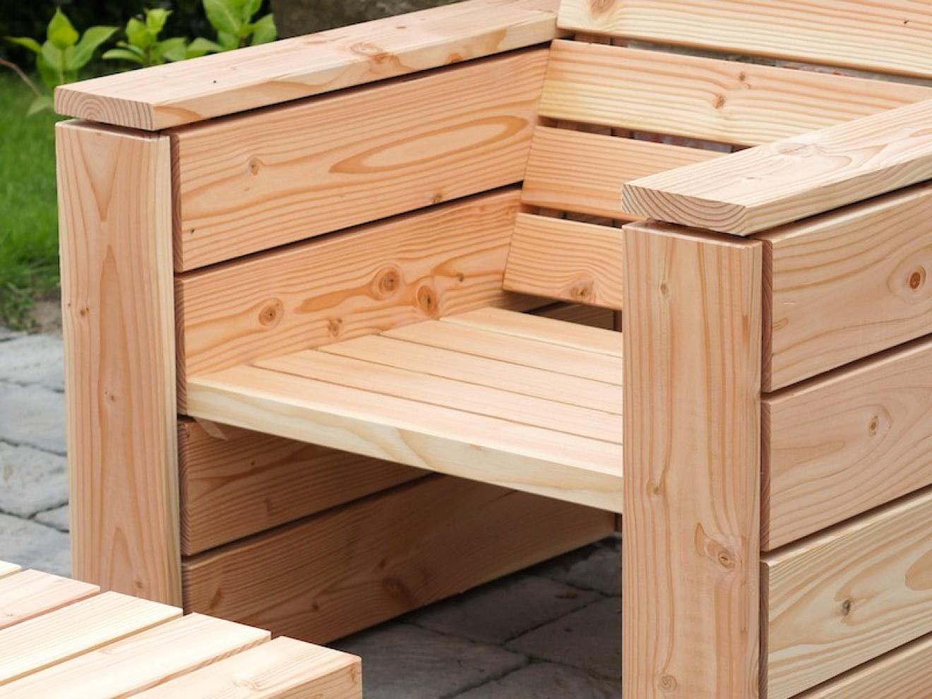 Lounge Sessel Zeitlose Loungemöbel aus heimischem Holz