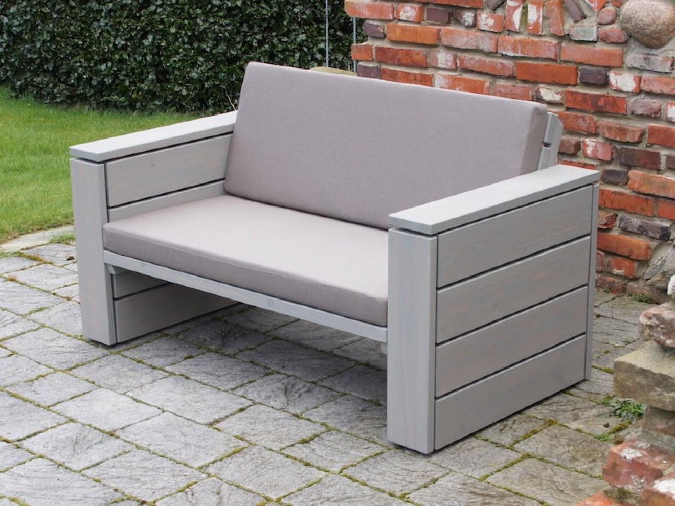 Sessel Aus Holz Holz Outdoor Lounge Element Sessel Holz