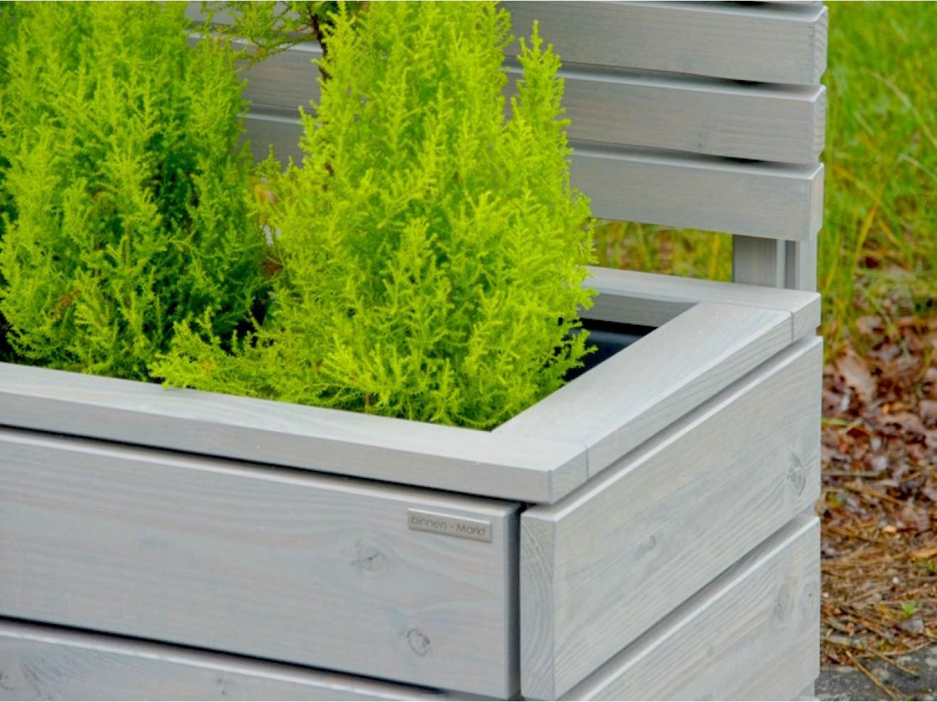 Pflanzkasten Mit Sichtschutz Heimisches Holz Made In Germany