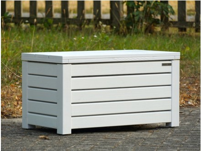 Truhenbank holz weiß  Truhenbank Sitztruhe Holz - Made in Germany