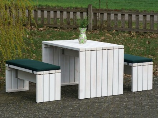 Gartenmöbel Holz Set 1
