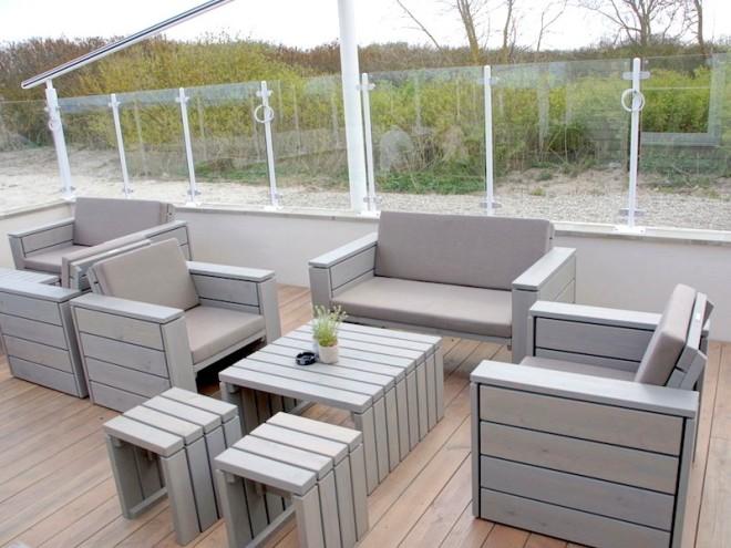 Loungemöbel Set 2 Zeitlose Loungemöbel Aus Heimischem Holz