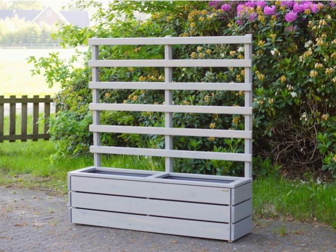 Beliebt Pflanzkasten mit Rankgitter - heimisches Holz - Made in Germany OB11