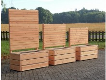 pflanzkasten aus heimischem holz made in germany. Black Bedroom Furniture Sets. Home Design Ideas