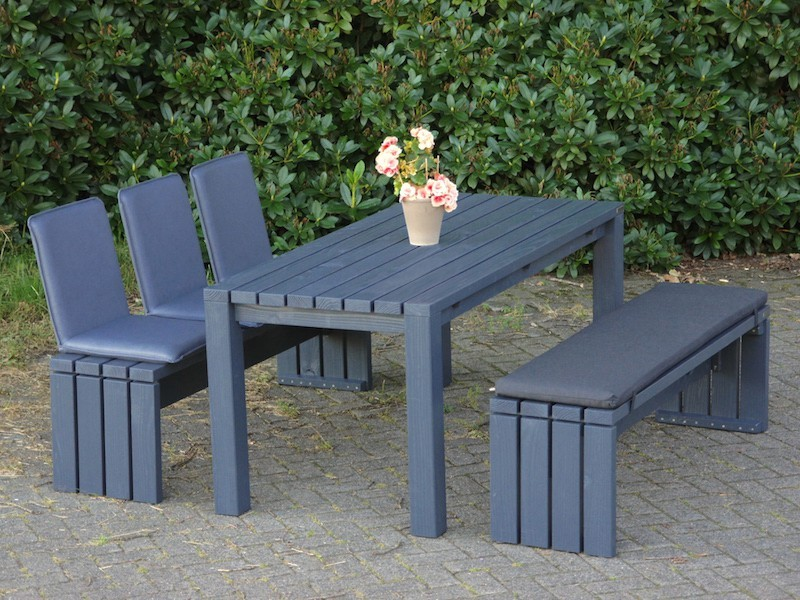 gartenm bel set 3 zeitlose gartenm bel aus heimischem holz. Black Bedroom Furniture Sets. Home Design Ideas
